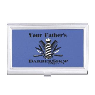 Der Friseursalon Ihres Vaters Visitenkarten Dose