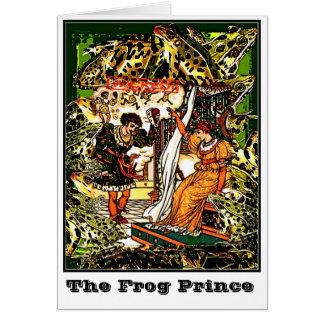 Der Frosch-Prinz Karte