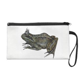 Der Frosch-Prinz Wristlet Handtasche