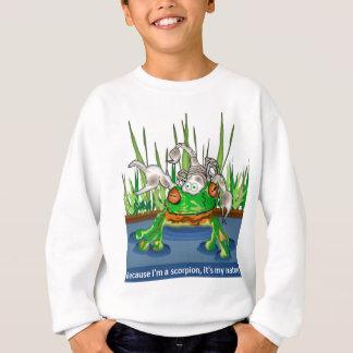 Der Frosch und der Skorpion Sweatshirt