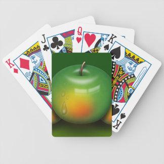 der Frucht-Küche des Apfels apple-379374 gesunde Bicycle Spielkarten