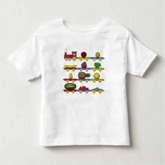 Der Frucht-Zug Kleinkinder T-shirt