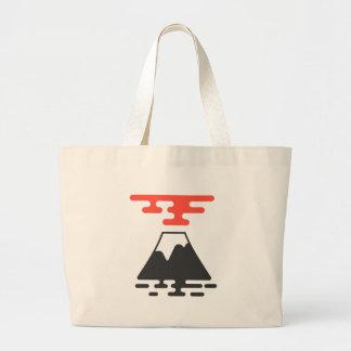 Der Fujisan Jumbo Stoffbeutel