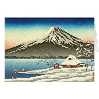 Der Fujisan-Winter 1890 Karte