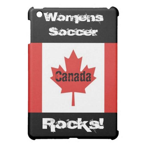 Der Fußball-Felsen der Frauen! - Kanadische Flagge Hülle Für iPad Mini
