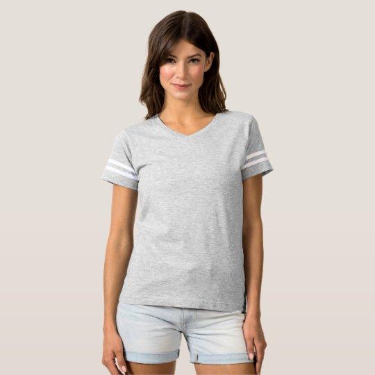 Frauen Football T-Shirt