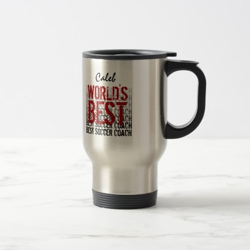Der Fußball-Trainer-individueller Name der Welt be Kaffee Haferl