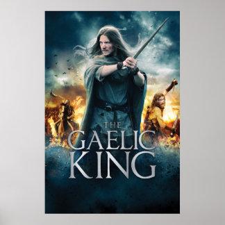 Der gälische König - großes Plakat