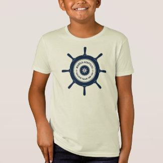 Der Gang Manila-Acapulco Abzeichen-des mutiges T-Shirt