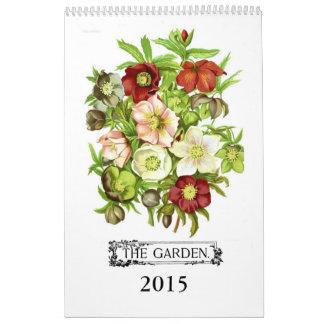 Der Garten 2015 Wandkalender