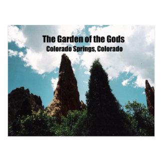 Der Garten der Götter Postkarte