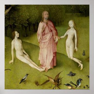 Der Garten der irdischen Freuden, 15. Jahrhundert Poster