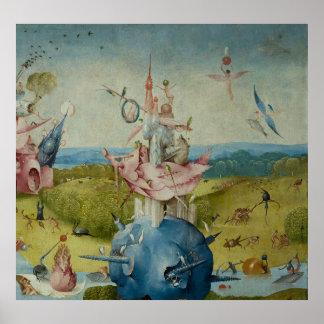 Der Garten der irdischen Freuden Poster