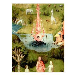 Der Garten der irdischen Freuden Postkarte