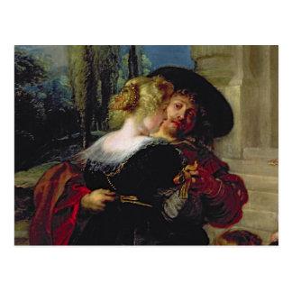 Der Garten der Liebe, c.1630-32 Postkarte