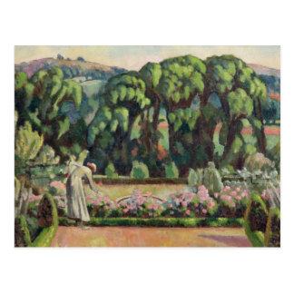Der Garten des Künstlers bei Durbins, c.1915 (Öl Postkarte
