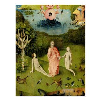 Der Garten irdischer Freuden 2 Postkarte