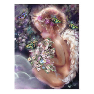 Der Garten-Postkarte des Himmels Postkarte