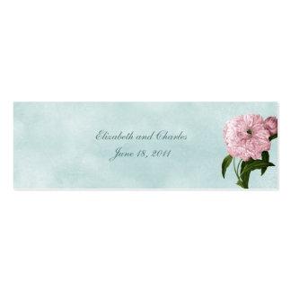 Der Garten-Sammlungs-Geschenk-Umbau Mini-Visitenkarten