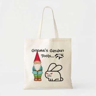 Der Garten-Werkzeuge des Gnomes Tragetasche