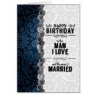 Der Geburtstag des Ehemanns für homosexuelle Ehe Karte