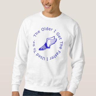 Der Geburtstag des Läufers Sweatshirt