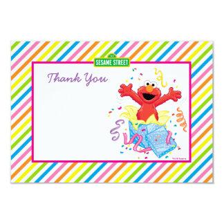 Der Geburtstag des Mädchens des Sesame Street-| 8,9 X 12,7 Cm Einladungskarte