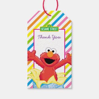 Der Geburtstag des Mädchens des Sesame Street-| Geschenkanhänger