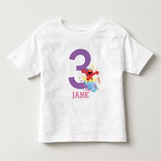 Der Geburtstag des Mädchens des Sesame Street-| Kleinkind T-shirt
