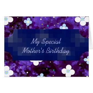 Der Geburtstag meiner speziellen Mutter! Grußkarte