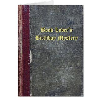Der Geburtstags-Geheimnis-Karte des Karte