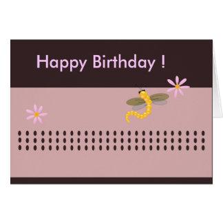 Der Geburtstags-Gruß der Buggy Karte