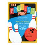 Der Geburtstags-Party Einladung des Retro