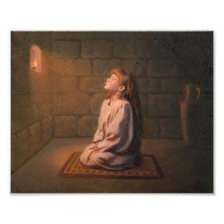 Der geheime Gebets-Foto-Druck Fotodruck