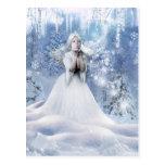 Der Geist des Winters Postkarte