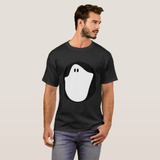 Der Geist-grundlegender dunkler T - Shirt der