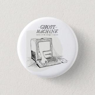 """Der Geist in meinem Maschinen-""""altes Mac-"""" Knopf Runder Button 3,2 Cm"""