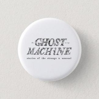 Der Geist in meinem Maschinen-Logo-Knopf Runder Button 3,2 Cm