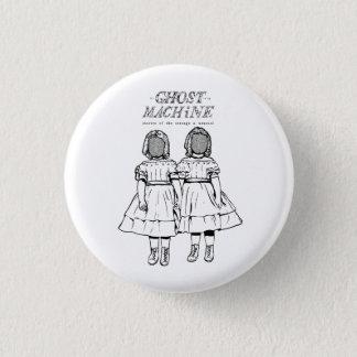"""Der Geist in meiner Maschine """"paart"""" Knopf Runder Button 2,5 Cm"""