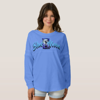 Der Geist-Jersey-Shirt der blauer Mond-Frauen Fan Trikot