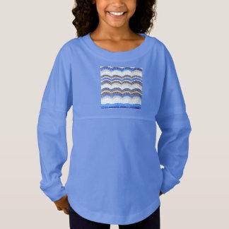 Der Geist-Jersey-T - Shirt der blauen