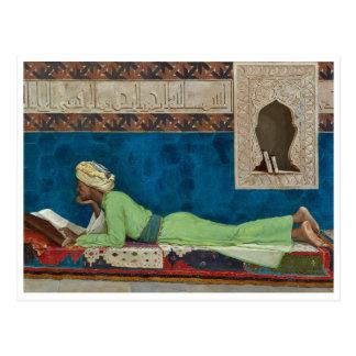Der Gelehrte durch Osman Hamdi Bey Postkarte
