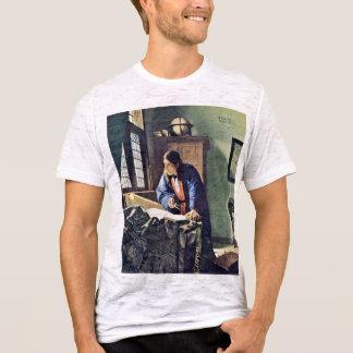 Der Geograph., durch Johannes Vermeer T-Shirt