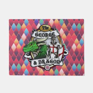 Der George und die Drache-Tür-Matte Türmatte