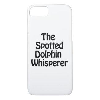 der gepunktete Delphin Whisperer iPhone 8/7 Hülle