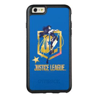 Der Gerechtigkeits-Liga-| Logo-Pop-Kunst OtterBox iPhone 6/6s Plus Hülle