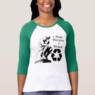 Der gerecyceltedenker-T - Shirt