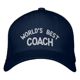 Der gestickte Hut der Welt bester Trainer