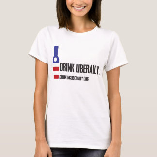 Der Getränk-der T - Shirt liberal Frauen
