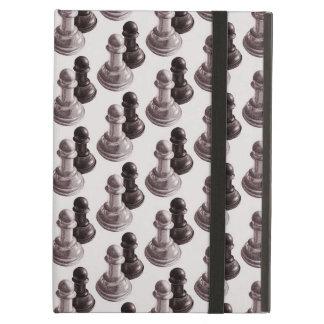 Der gezeichnete Bleistift verpfändet Muster-Schach